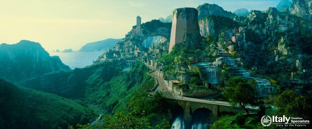 Wonder Woman Sites and Locations Tour of Southern Italy