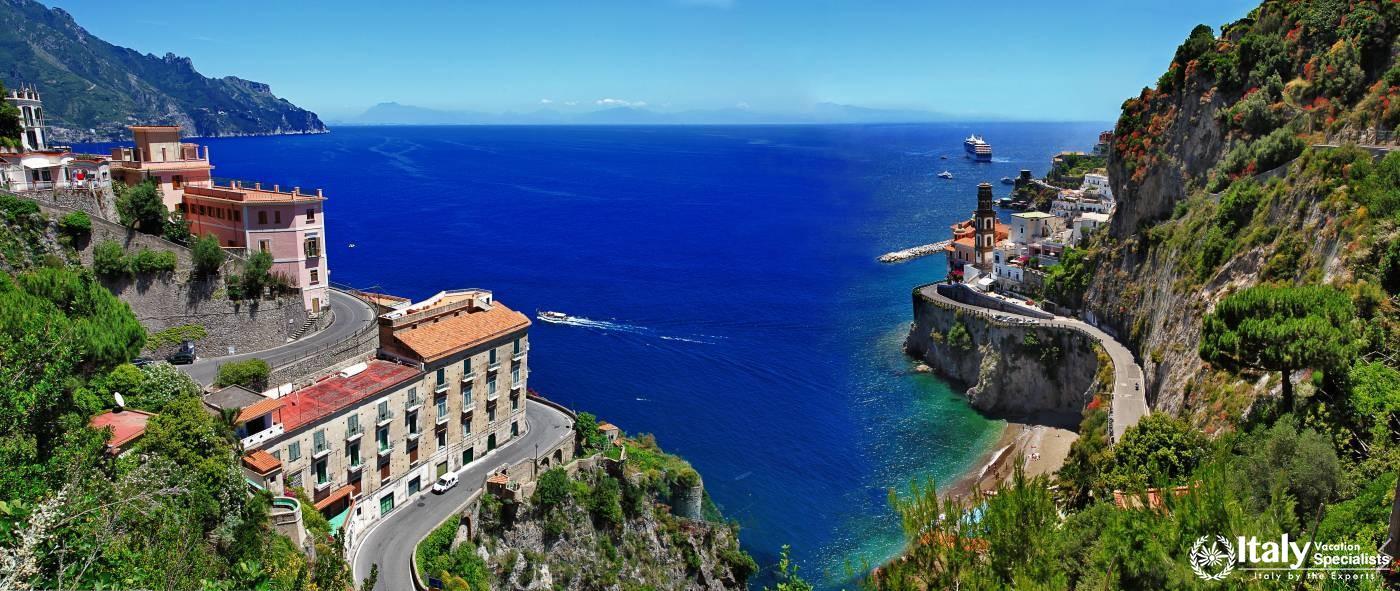 Amalfi Coast, Sicily and Malta Vacation Package