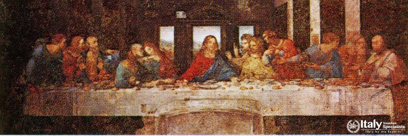 Leonardo da Vinci's The Last Supper, Milano