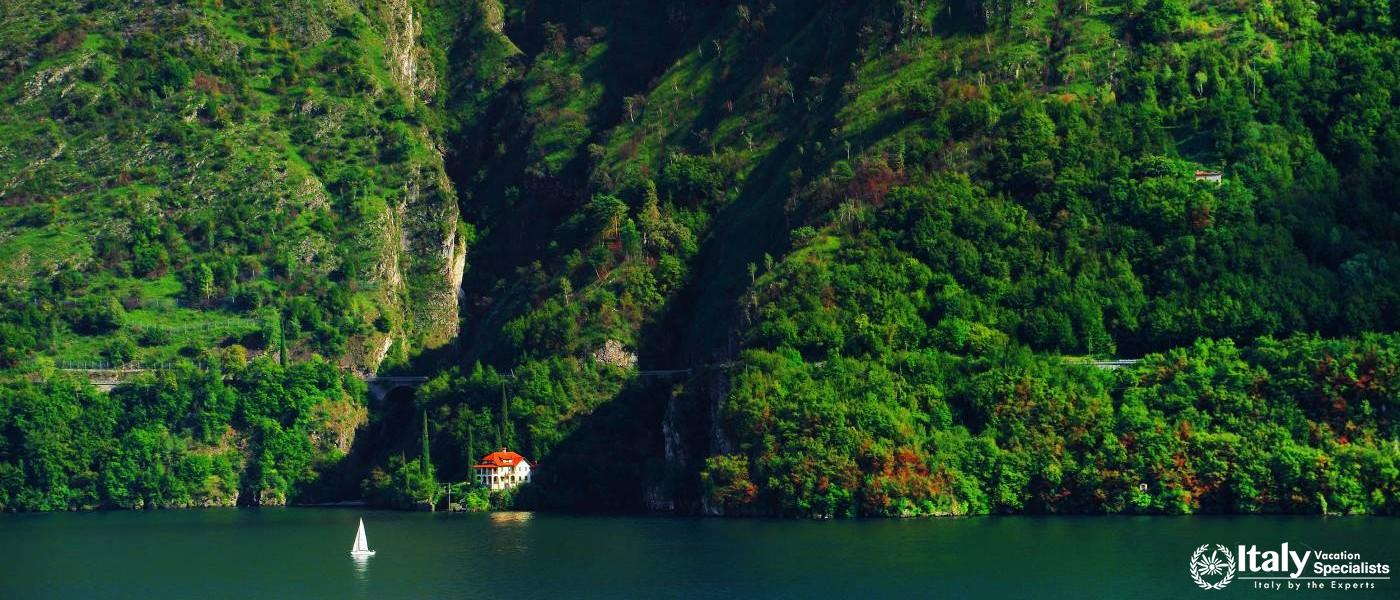 Lake Como from the Air
