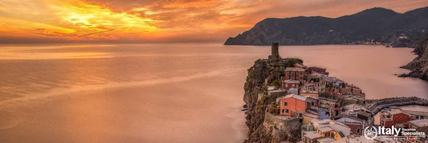 Vernazza by Sunset