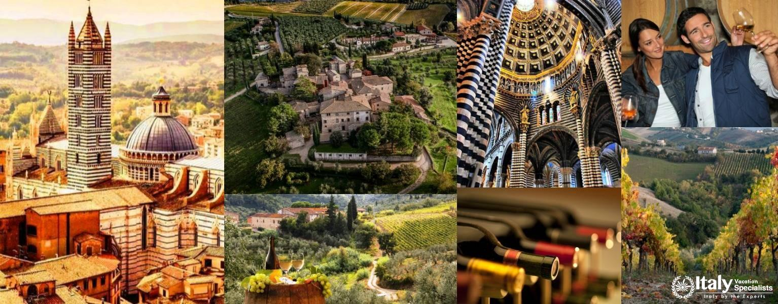 Siena and Chianti Full Day Private Tour from Tuscany