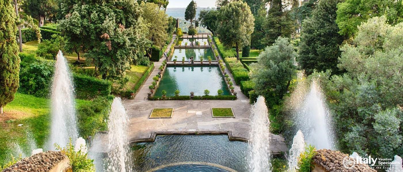 Magical Villa D'Este Gardens in Tivoli