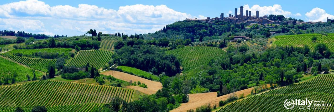 Private Driver in Tuscany to San Gimignano and Volterra