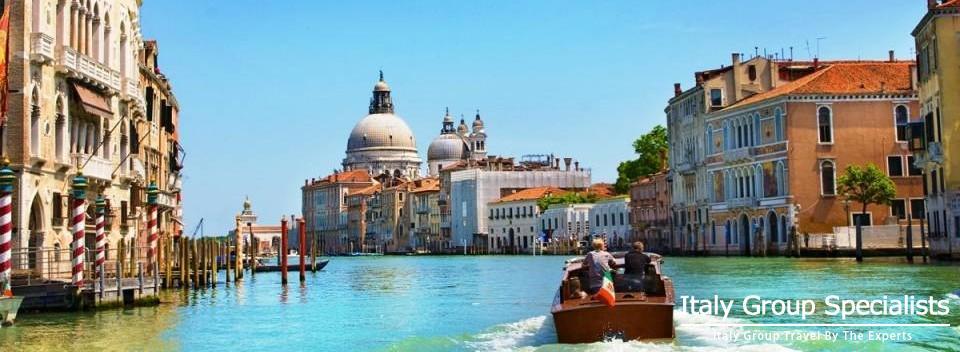 Cruising the waterways of Venice!