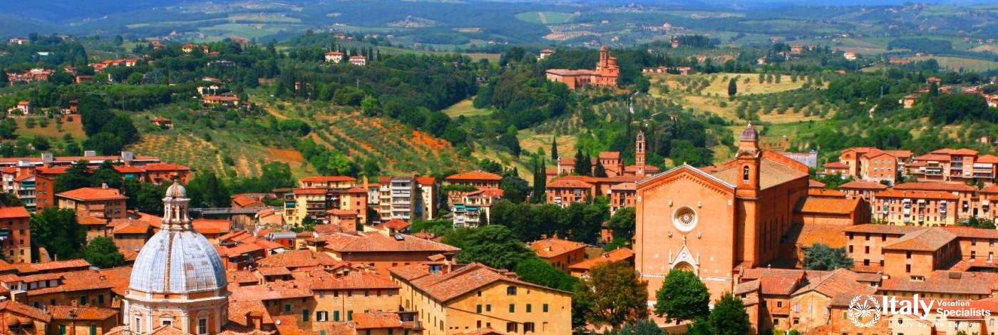 Siena towards the Countryside