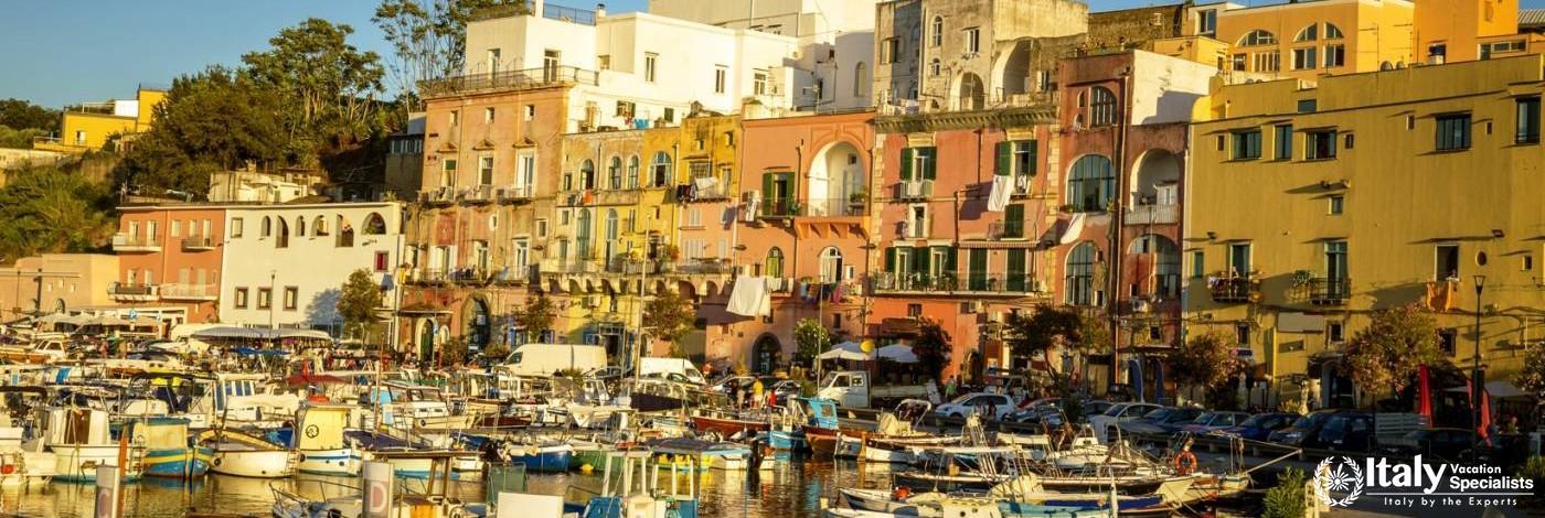 Procida Island, Bay of Naples Italy