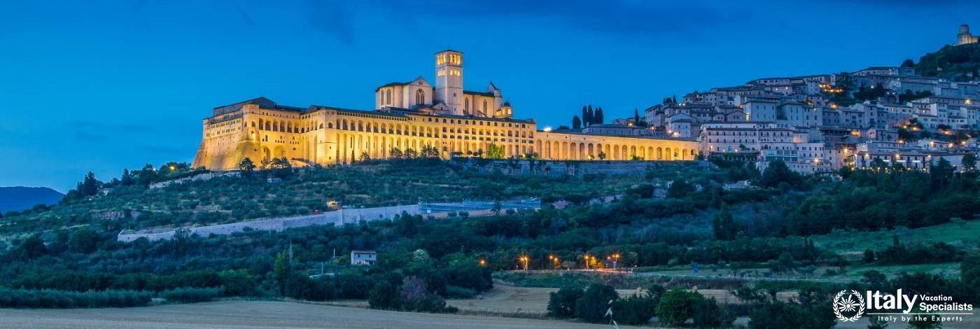 Panoramic View of Assisi