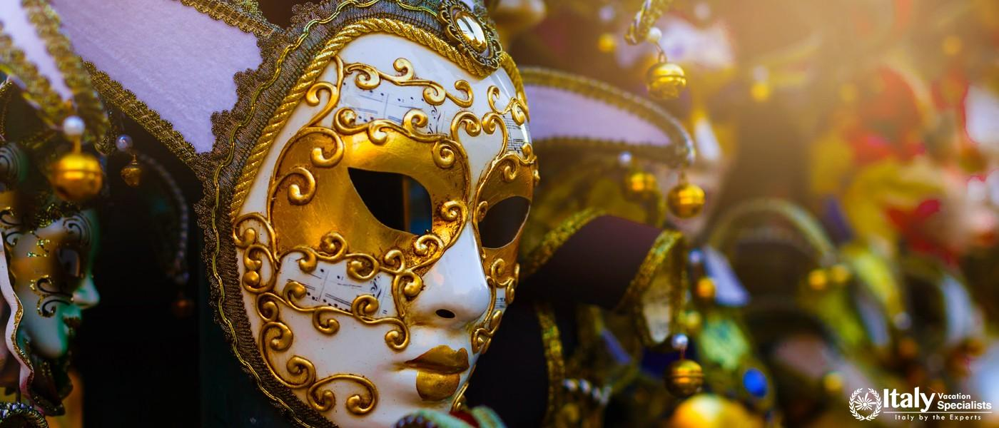 Tour create your own Venice Carnival mask at Venice, Italy