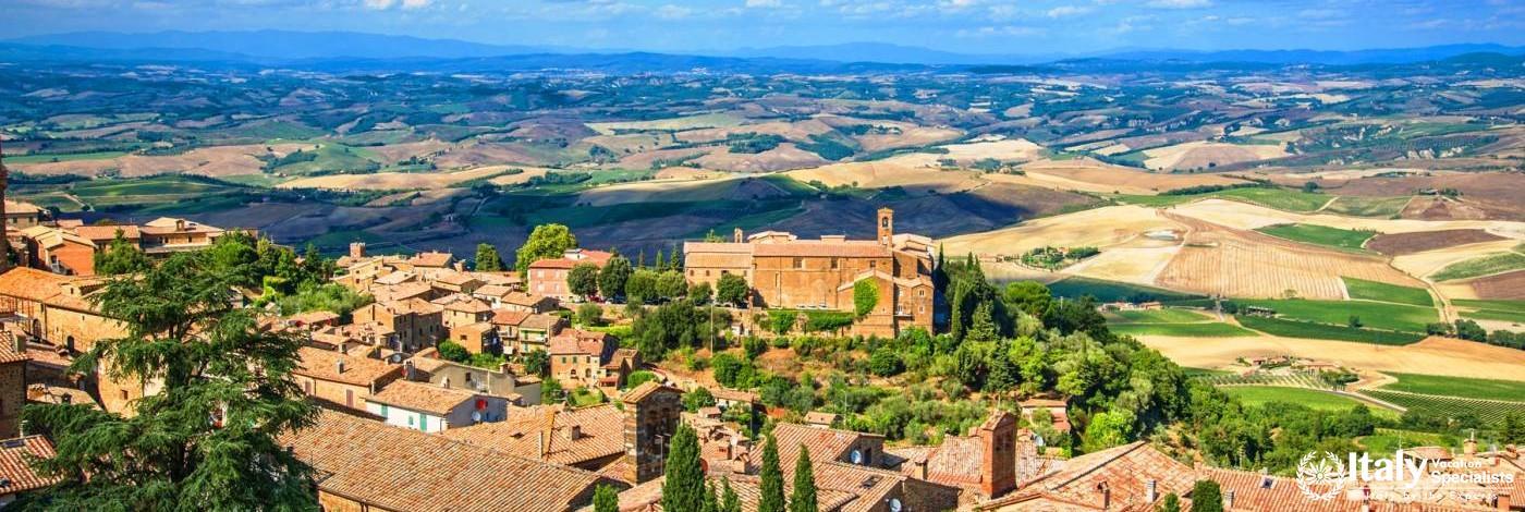 Beautiful Montalcino, Tuscany