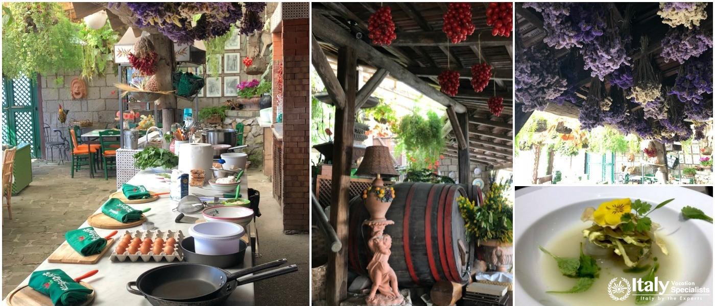 Cooking on the Amalfi Coast Organic Farm