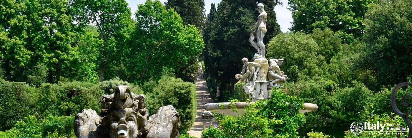 Spectacular Boboli Gardens, Italy