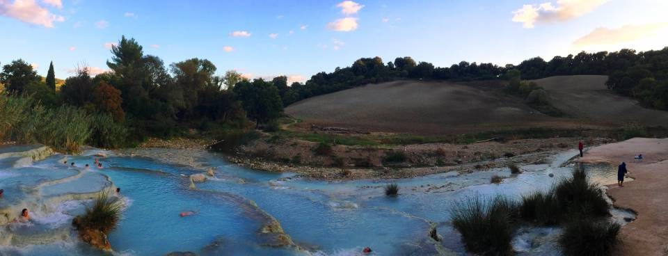 Saturnia Natural Hot-Springs Italy