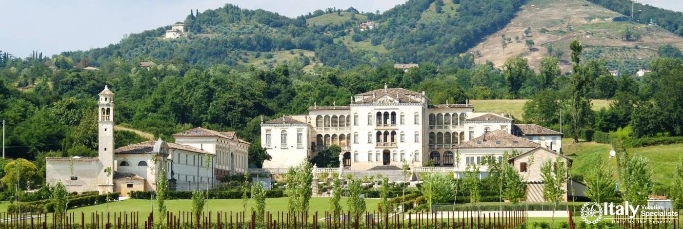 Villa Rinaldi Barbini near Asolo