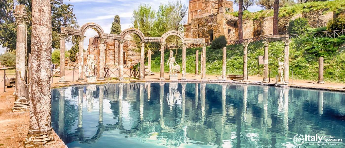 Hadrian's Villa at Tivoli Private Guides