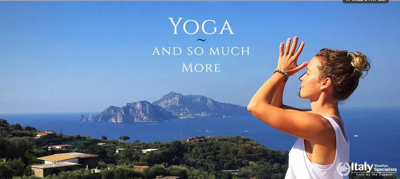 Yoga and More in Italy