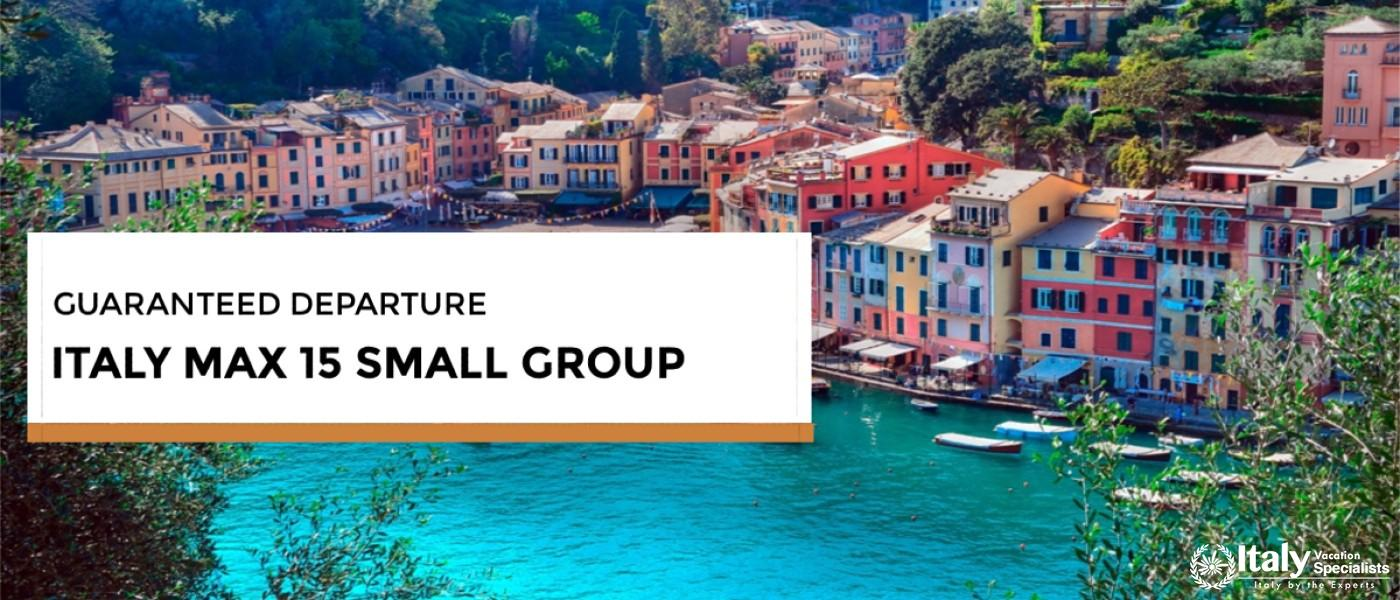 Small Group Vacations Italy