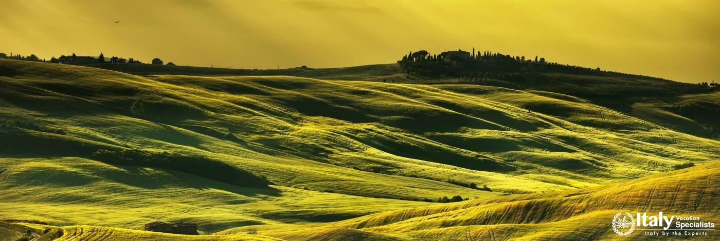 Tuscany, Green